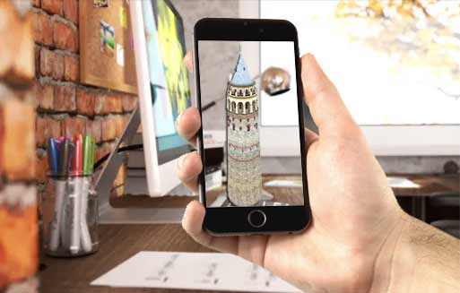 google augmented reality search results tourism marketing
