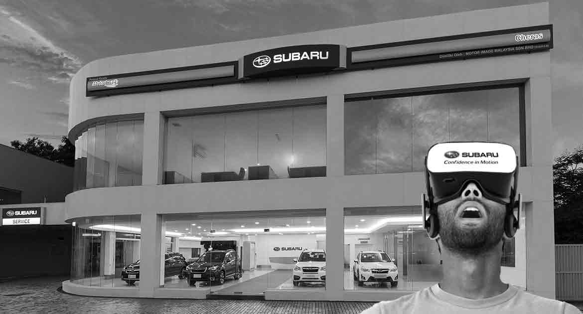 Subaru Sanal Showroom Otomobil Virtual Showroom VR